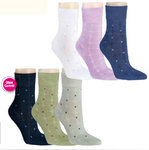 Damen-Socken Retro, 3er-Pack